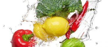 La sección de Frutas y Hortalizas en un Distribuidor