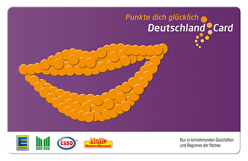 DeutschlandCard-Motiv-Smiley