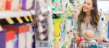 Mundo bebé: Qué ocurre con la cesta de la compra cuando llega un bebé a casa