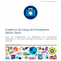 Cuaderno de Carga de Proveedores  Sector Salud