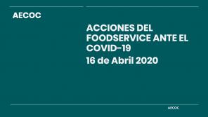 Acciones del Foodservice ante el COVID-19