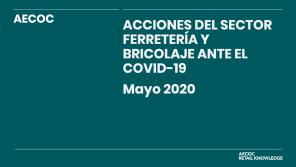 Acciones del sector Ferretería y Bricolaje ante el COVID-19