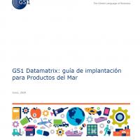 GS1 Datamatrix: guía de implantación para Productos del Mar