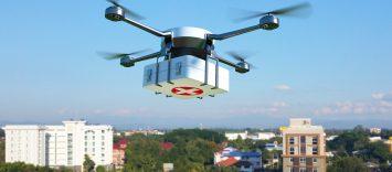 """La primera prueba experimental del """"dron farmacia"""" se realizará en Teruel"""